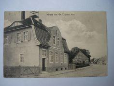 Gross Tychow Kreis Belgard Kaiserliches Postamt 1913