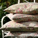 Vintage Paisley Cushions
