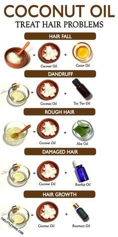 Homemade Hair Growth Oil, Coconut Oil Hair Growth, Coconut Oil On Hair, Diy Coconut Oil Hair Mask, Coconut Oil Tea, Hair Growth Tips, Healthy Hair Growth, Natural Hair Growth, Coconut Oil For Dandruff
