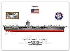 USS Enterprise CVAN 65, Us Navy, Royal Navy, Uss Enterprise Cv 6, Air Force, Navy Military, United States Navy, Navy Ships, Aircraft Carrier, Water Crafts