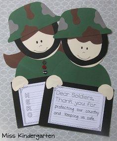 Letter to a veteran or family member