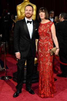 Pin for Later: 90+ Stars Being Sweet With Their Moms Michael Fassbender Michael Fassbender had his mom, Adele, by his side for the Oscars in March 2014.