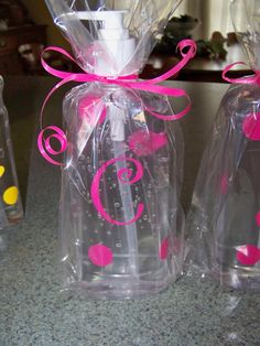 Gift idea hand sanitizer or soap