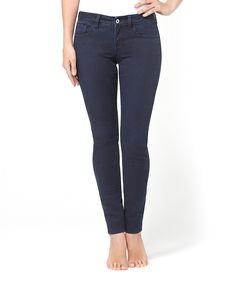 Evening Super Skinny Denim Jeans - Women by Yummie by Heather Thomson #zulily #zulilyfinds