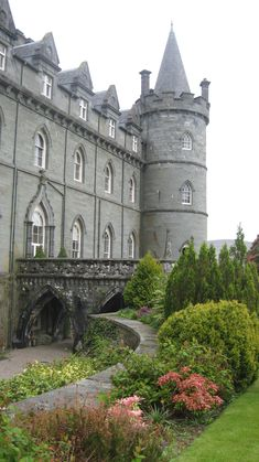 """""""Invarary Castle.""""                                       Downton's Duneagle ~ Rose's Home In Scotland."""