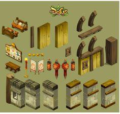 Novas artes do game Dofus, por Charlene le Scanff | THECAB - The Concept Art Blog