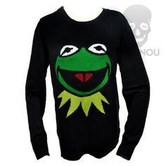 Blusa tricô Caco Muppets