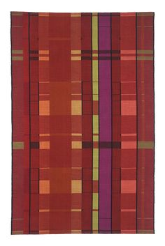 Kelly Marshall, hand woven cotton- rugs, table runners, etc