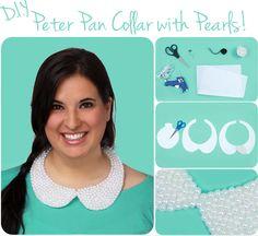 DIY: Detachable Peter Pan Collar with Pearls!