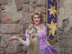 Rapunzel Tangled Adult Costume Walt Disney Princess by valchiria, $500.00. Omg, I really want this, but it's $500!!!