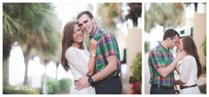 myrtle beach engagement pictures by the beach. Loved this outfit for an engagement photo session, lace dress, checkered shirt. #myrtlebeachengagementphotography #myrtlebeachengagementportraits #myrtlebeachphotographer