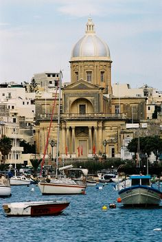 St Joseph's Church, Harbour of Kalkara, Malta by traceyjohns, via Flickr