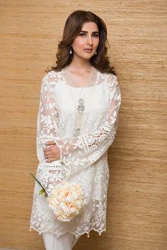 : Deepak Perwani's new luxury pret collection! Pakistani Fashion Casual, Pakistani Dresses Casual, Eid Dresses, Pakistani Dress Design, Indian Dresses, Indian Outfits, Indian Fashion, Fashion Dresses, Kurti Designs Party Wear