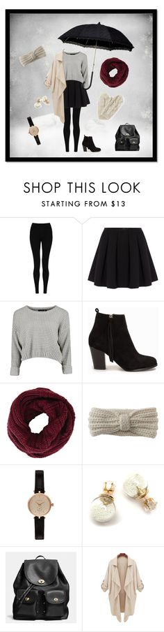 """""""Going out in the winter season"""" by mielind on Polyvore. Are going out this time of the year? I've got a good example on how to look fashionable and keep myself warm at the same this."""