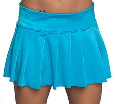 Turquoise Pleated Mini Skirt  http://www.schoolgirlskirts.com/collections/pleated-miniskirts/products/turquoise-pleated-mini-skirt