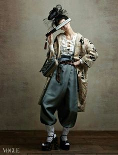 The trousers.. So chic -- Vogue Korea