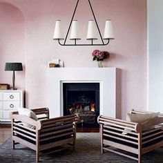 From the famed 'millennial pink' to traditional shades of dusty rose - positively blushing rooms, interior design and paint ideas for your home on House & Garden.