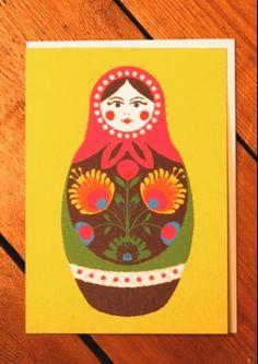 doll card