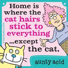Aunty Acid Comic Strip, June 01, 2014 on GoComics.com