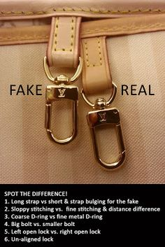 e446cf5714d4f How to spot a fake Louis Vuitton Bag  Beautiful Bags
