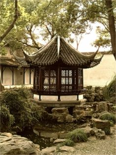 Pavilion in The Humble Administrator's Garden