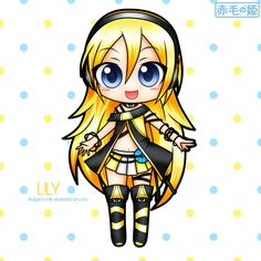 Vocaloid Lily | Vocaloid - Lily by ~Akage-no-Hime on deviantART