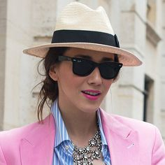 Stay Cool in Panama Hats