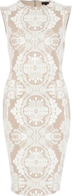 Lace print dress, £50, River Island. www.riverisland.com
