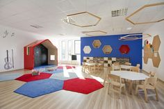 Sztuka Architektury Preschool Decor, Future School, Cedar Park, Pre School, The Neighbourhood, Kindergarten, Kids Rugs, Education, Interior Design