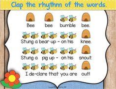 Bee Bee Bumble Bee {Steady Beat} {Rhythm} {Ta... by Mrs Stouffer's Music Room | Teachers Pay Teachers