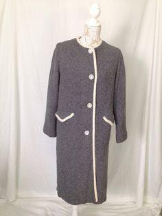 1950's Sweater Coat 1950's coat 1950's Coat от OneSweetThread