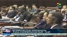 Culmina la Cumbre América del Sur & África