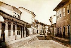 Rua Direita  Ano: 1862  Autor: Militão Augusto de Azevedo