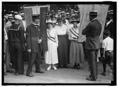 August Suffragist Catherine Flanagan Arrested for Picketing Connecticut History, Brave Women, Civil Rights, Women's Rights, Positive Images, 28 Years Old, Library Of Congress, Women In History, Social Science