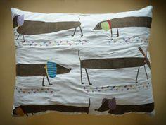 Cuscino_bassotti #pillow #dogs #homedecor  #bassots