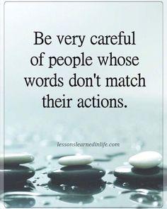 #lessonslearnedinlife #actionsmeanmorethanwords