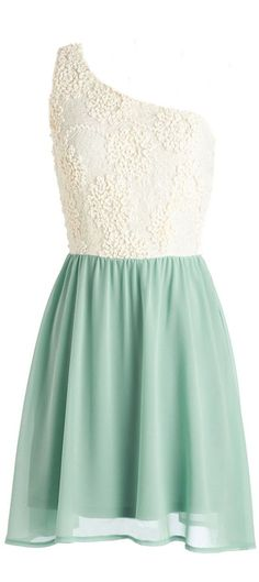 Off Shoulder Mint Tulle Dress *