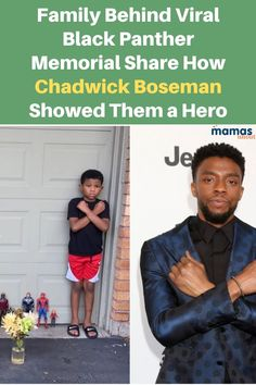 Family Behind Viral Black Panther Memorial Share Their Story The family behind the viral Black Panther memorial, which has touched so many in the wake of Chadwick Boseman's death, describes a hero. #ChadwiskBoseman #BlackPanther