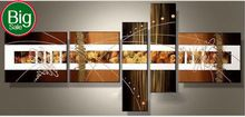 Handpainted big size modern home decor wall art picture living room abstract line point texture oil painting on canvas no frame(China (Mainland))