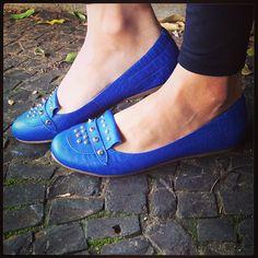 Bom Dia Koquinas! Uma sexta-feira Azul pra todas vocês! #koquini #sapatilhas #euquero #outonoinverno2013