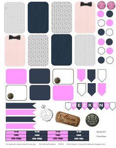 FREE Sabrina Davidson: Planner Stickers: Gossip Girl Chuck Bass