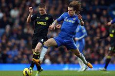 David Luiz in battle