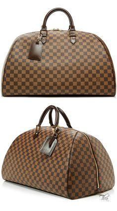 ~Vintage Louis Vuitton Damier Ebene Ribera GM   House of Beccaria