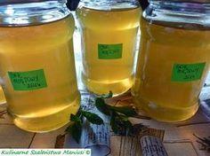 Bardzo lubię mięte :-) i jak zobaczyłam przepis na sok u Olivciowe Pasje z Natury to od razu ...