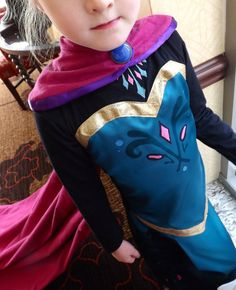 Elsa Frozen Coronation Dress and Cape PDF Pattern by joy2sew THERE ARE 30 PATTERNS FOR ELSA AND ANNA!!