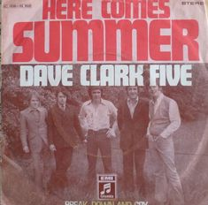 """7"""" 1969 BEAT VG+ ! DAVE CLARK FIVE : Here Comes Summer"""