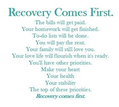 #Recovery becomes your priority. The rest will fall into place. #WeTransformLives #rehab #sobriety #nashville #cumberlandheights Let us help you. 1-800-646-9998