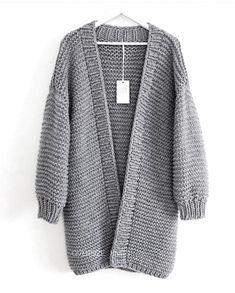 - Sweaters knitting Source by bestenjackestricken Ladies Cardigan Knitting Patterns, Knit Cardigan Pattern, Chunky Knit Cardigan, Big Cardigan, Gilet Mohair, Knit Baby Sweaters, Knitted Coat, Cardigan Outfits, Knit Fashion