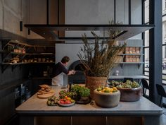 Moody interiors of Le Pristine restaurant take cues from the Old Masters Copenhagen Design, Space Copenhagen, Peter Paul Rubens, Rembrandt, Black Dining Chairs, Renaissance Architecture, Cafe House, Wood Fired Oven, Hospitality Design