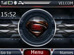 Free Man of Steel theme by galina53 on Tehkseven
